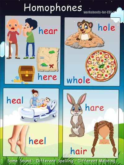 "Free Printable Homophone Worksheets Adrianbruce On Twitter ""homophone Example G Words Free"