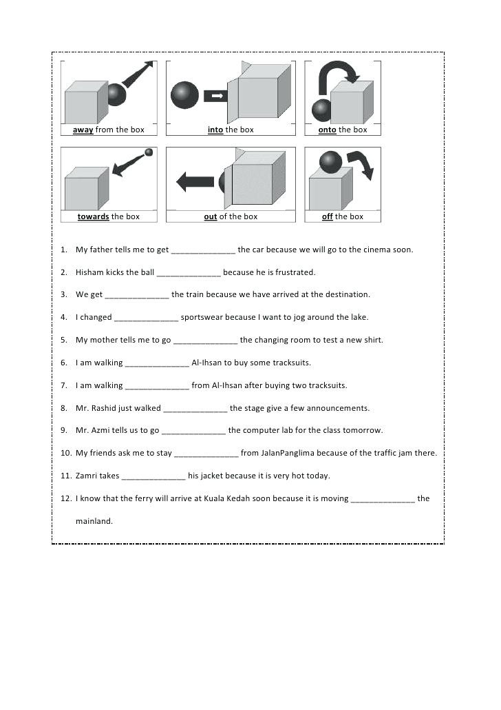 Free Printable Preposition Worksheets 5th Grade Preposition Worksheets – Omgstories