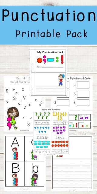 Free Printable Punctuation Worksheets Punctuation Marks Printable Pack