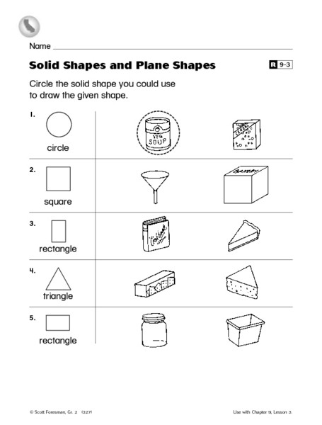 "Geometric Shapes Worksheet 2nd Grade 3d Shapes Worksheet 2nd Grade لم يسبق له Ù…Ø ÙŠÙ"" الصور Tier3"