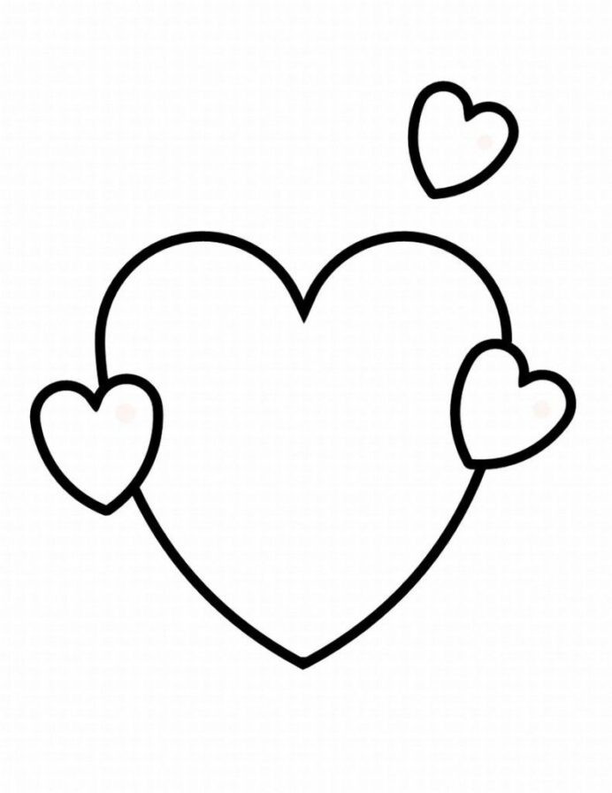 Heart Coloring Worksheet Addition Problems for Grade 4 Heart Shape Coloring Pages Dbt