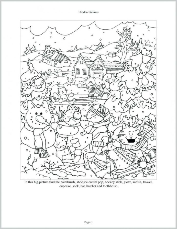 Hidden Picture Math Worksheets Best Coloring Free for Middle School Good Math Worksheets