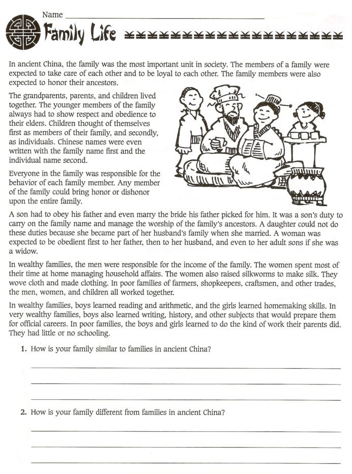History Worksheets for 2nd Grade A An the Worksheets for Grade 2 6th Grade History Worksheets