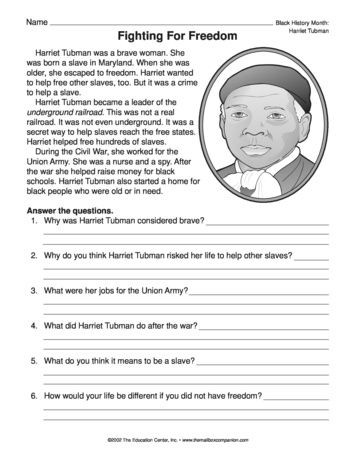 History Worksheets for 2nd Grade Fighting for Freedom Lesson Plans the Mailbox