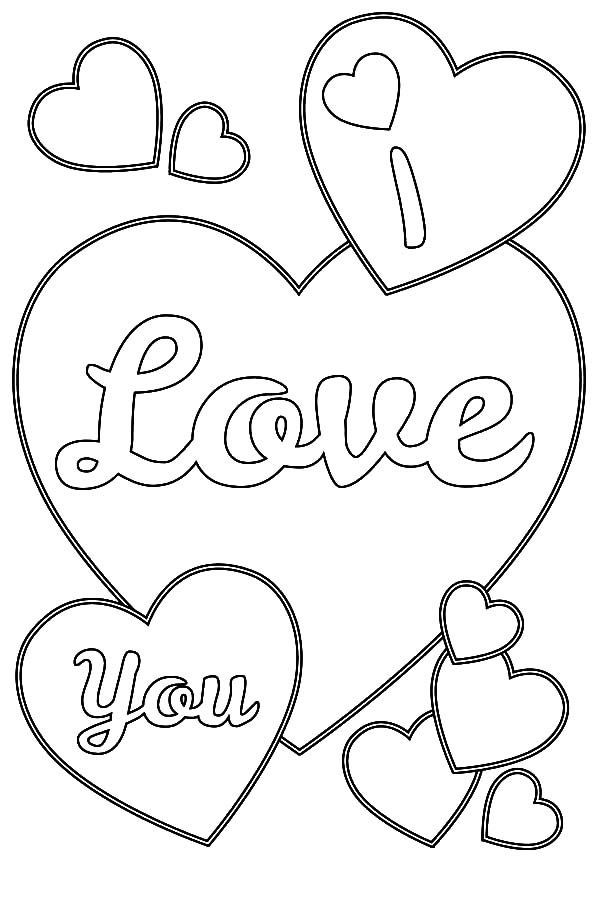 Human Heart Coloring Worksheet Love Hearts Coloring Pages Coloring Home