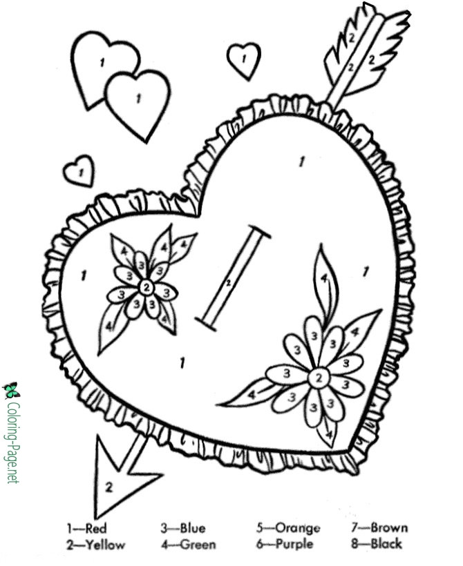 Human Heart Coloring Worksheet Valentine Heart Coloring Pages