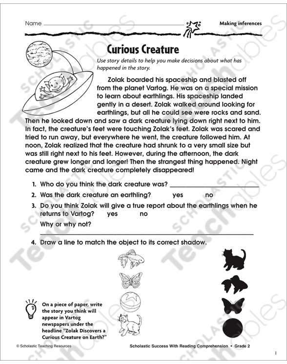 Inference Worksheets Grade 3 Making Inferences Grade 3 Collection
