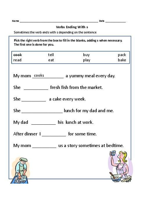 Irregular Verbs Worksheet 2nd Grade Grade 1 Worksheet Yahoo Image Search Results