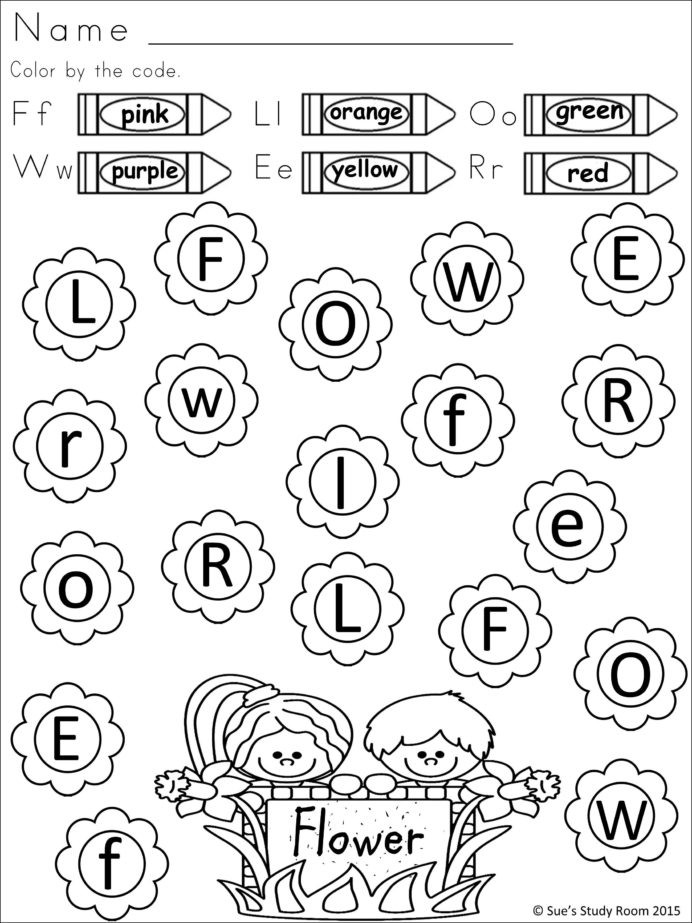 Jolly Phonics Worksheets for Kindergarten Spring Letter Recognition for Prek and Jolly Phonics