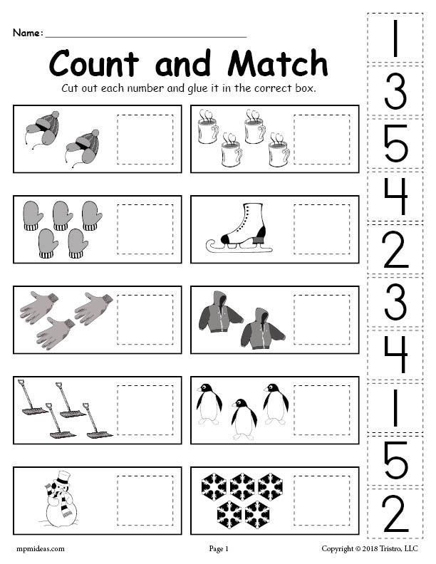 Kindergarten Cut and Paste Worksheets Pin On Daycare