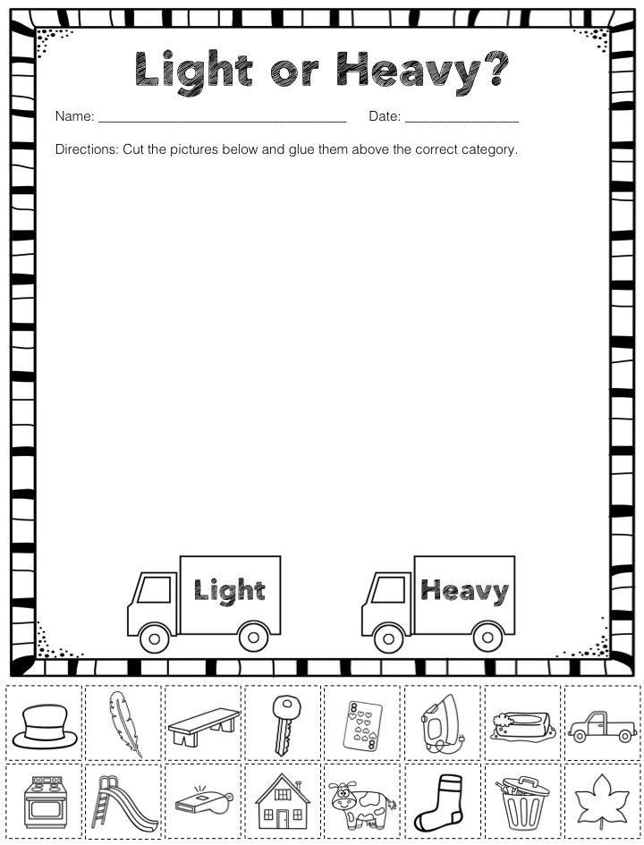 Kindergarten Math sorting Worksheets Pin On Printable Worksheet for Kindergarten