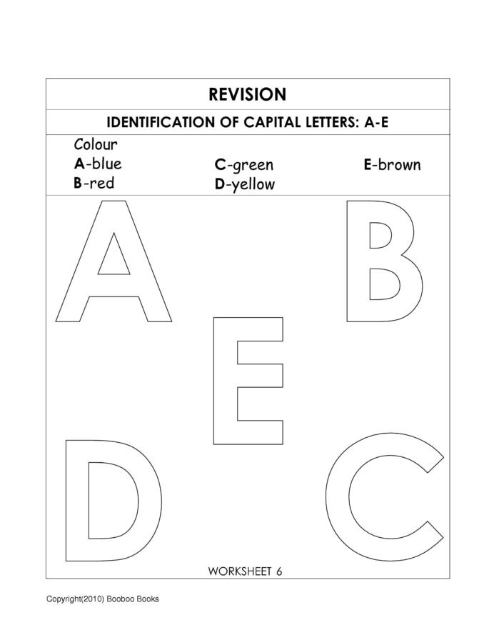 Kindergarten sorting Worksheets Kindergarten Alphabet Worksheets Preschool Pre Letter