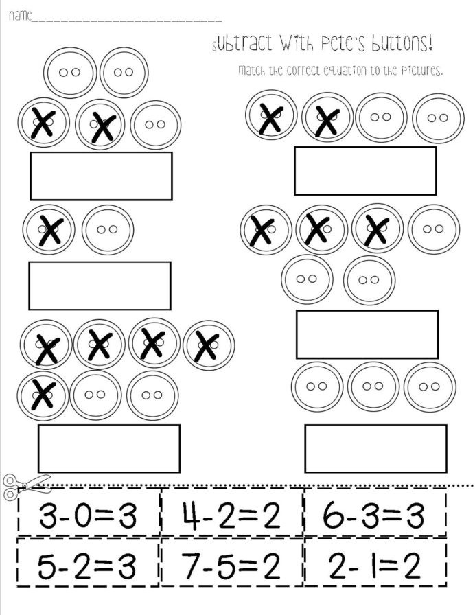 Kindergarten Subtraction Worksheets Free Printable Preschool Worksheet Counting Houses Printable Worksheets and