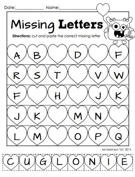 Kindergarten Worksheets Cut and Paste Pin On Sharwin