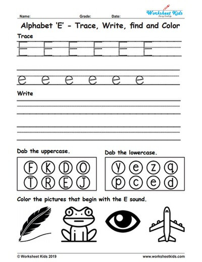 Kindergarten Worksheets Cut and Paste Worksheet Extraordinary Alphabeteets Free Trace Write Find