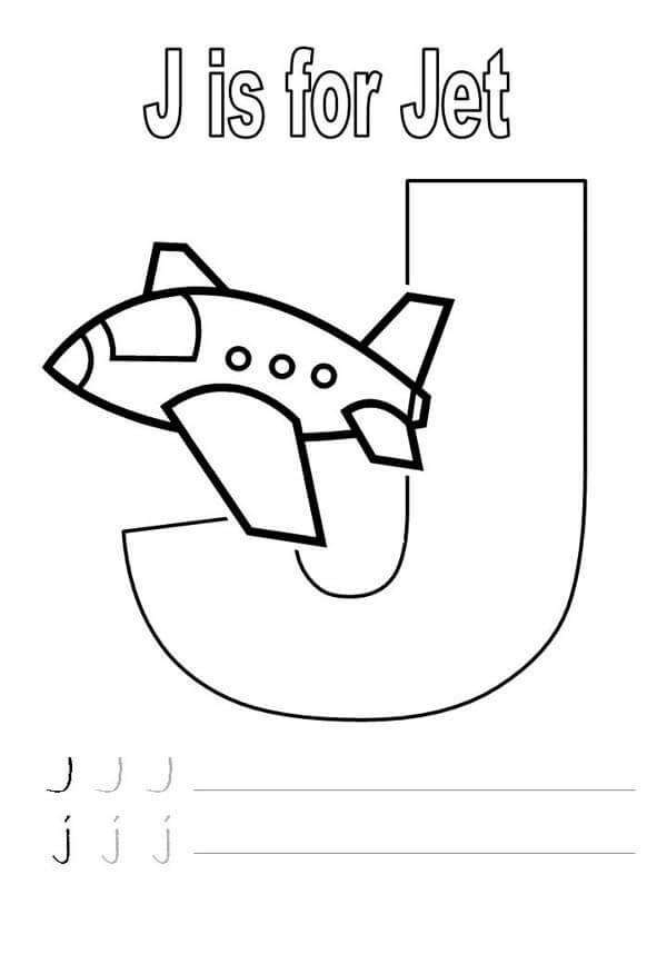 Letter J Worksheets Downloadable Letter J Worksheets for Preschool Kindergarten