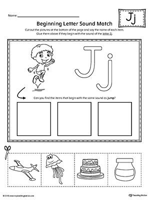 Letter J Worksheets Letter J Mini Book Printable