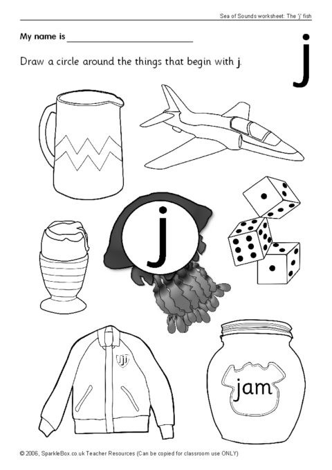 Letter J Worksheets Letter J Worksheets Sb440 Sparklebox