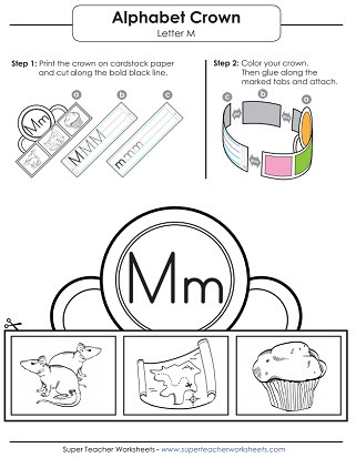 Letter M Worksheets for Preschoolers Letter M Worksheets Recognize Trace & Print