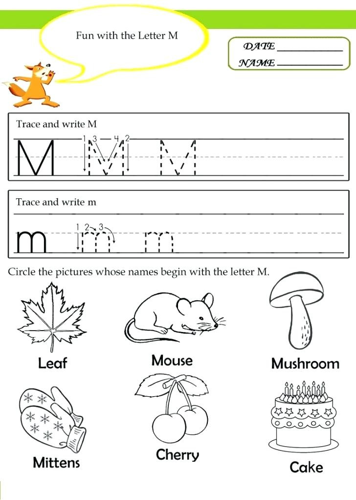 Letter M Worksheets for toddlers 20 Instructive Letter M Worksheets for toddlers
