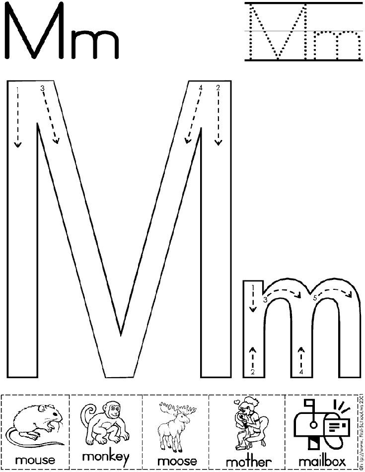 Letter M Worksheets for toddlers Abc Hide and Seek Letter Find Worksheets for Preschoolers