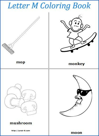 Letter M Worksheets Kindergarten the Alphabet the Letter M Kindergarten Resources Letter M