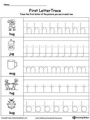 Letter Tracing Worksheets Pdf Lowercase Letter Tracing Un Words