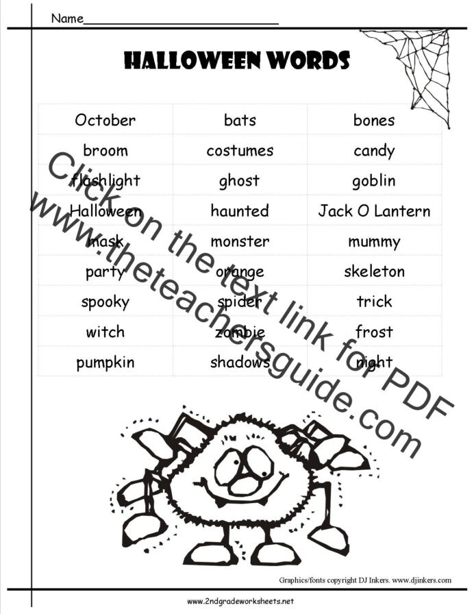 Life Skills Math Worksheets Pdf Halloween Worksheets and Printouts Fun Elementary