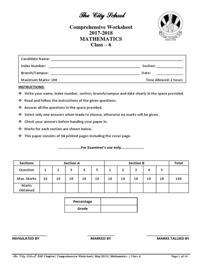 Line Graph Worksheet 5th Grade Line Graph Calculator the City School Worksheets for Class 7