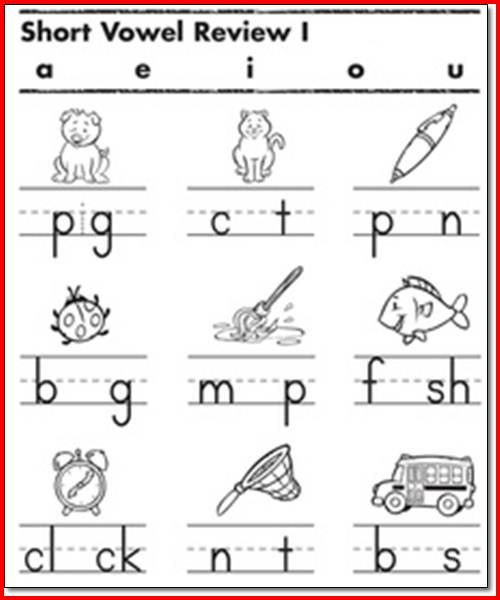 Long Vowels Worksheets First Grade Long and Short Vowel Worksheets for 1st Grade لم يسبق له