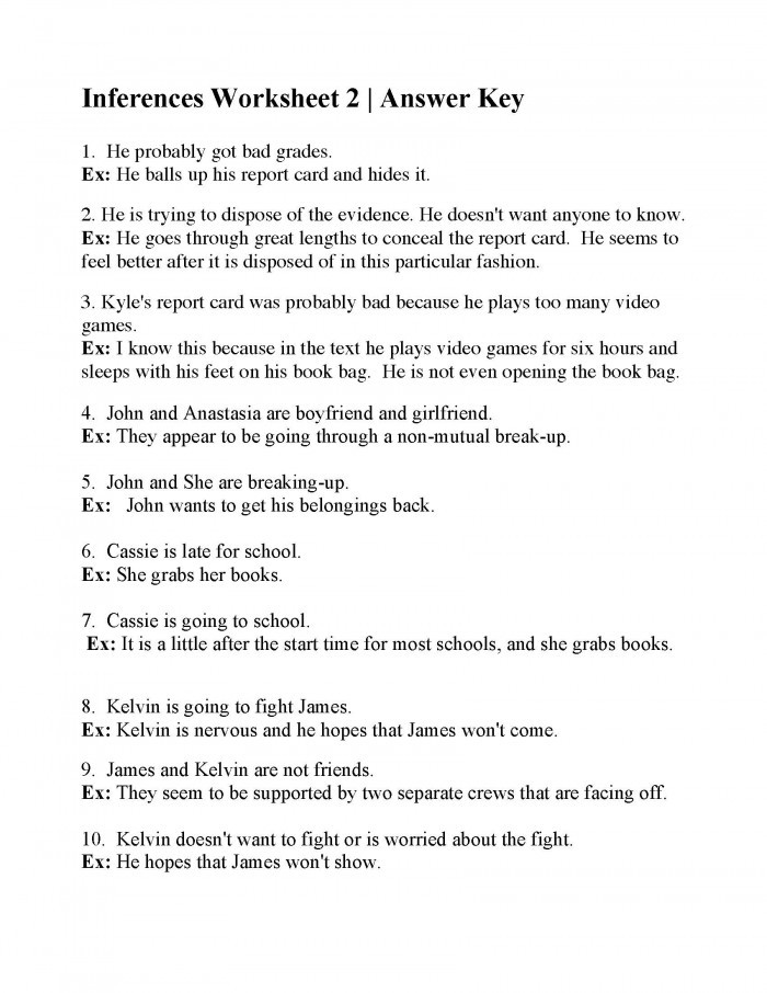 Making Inferences Worksheet 4th Grade Making Inferences Courageous Leaders Part 2 Worksheets