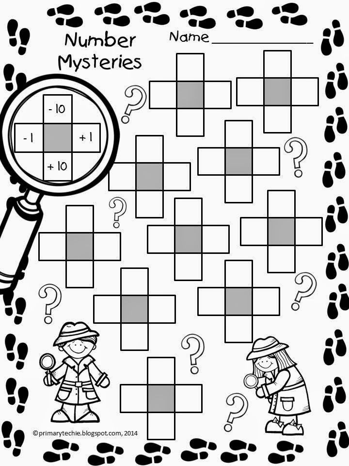 Math Mystery Picture Worksheets Number Mysteries for Math Detectives with Images