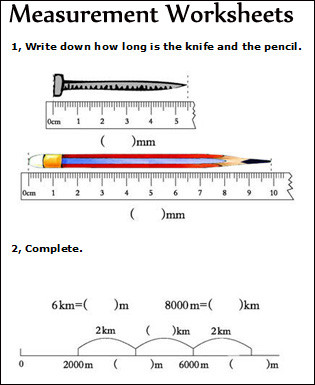 Measurement Worksheets for 2nd Grade Measurement Worksheets Measuring Math Worksheets for Kids