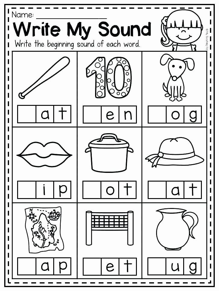 Medial sounds Worksheets First Grade Pin On Editable Grade Worksheet Templates