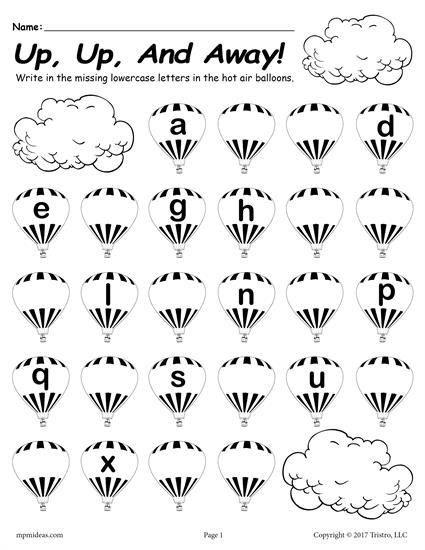 Missing Letter Alphabet Worksheets Printable Lowercase Alphabet Worksheet Fill In the Missing