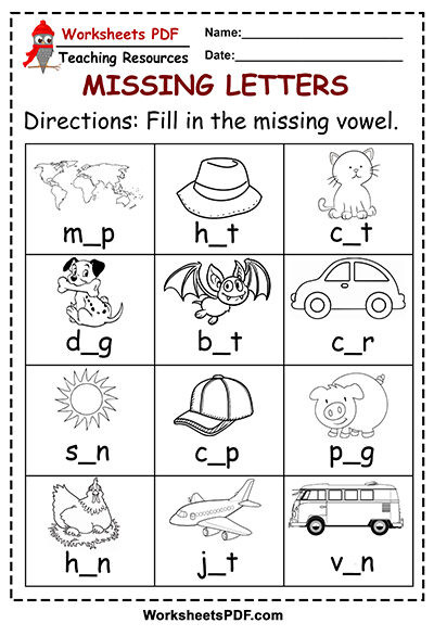 Missing Letters Worksheets Pdf Missing Letters Free Printables Worksheets Pdf