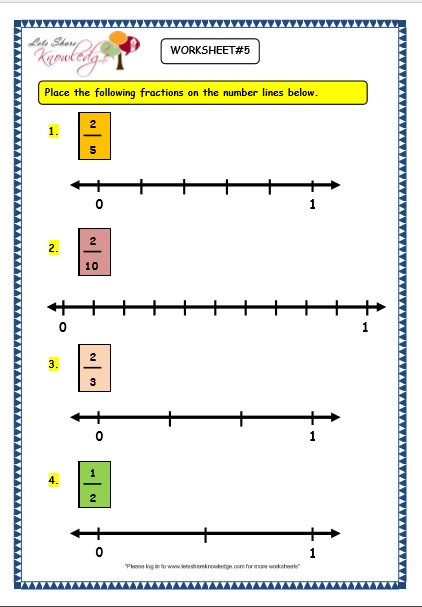 Number Lines Worksheets 3rd Grade Grade 3 Maths Worksheets 7 2 Making Fractions On the