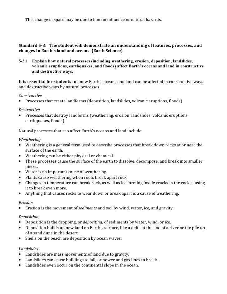 Ocean Floor Worksheets 5th Grade Science – Essential Knowledge for 5th Grade Pass Test