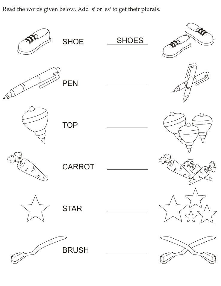 Plurals Worksheet 3rd Grade Make Plural Download Free Make Plural for Kids