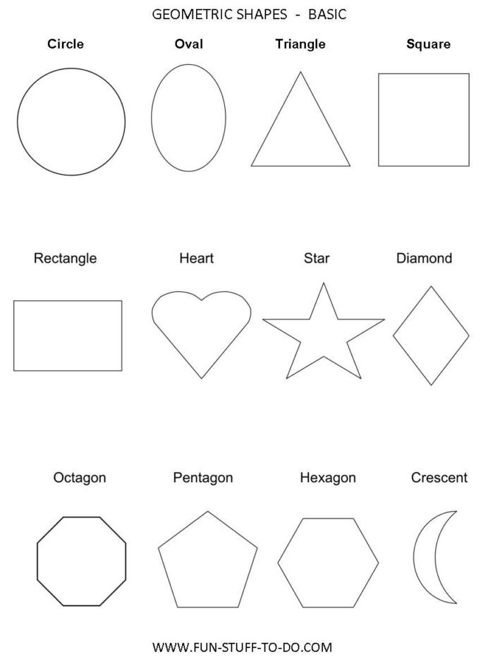 Polygon Worksheets 3rd Grade Geometric Shapes Worksheets with Elementary Fraction
