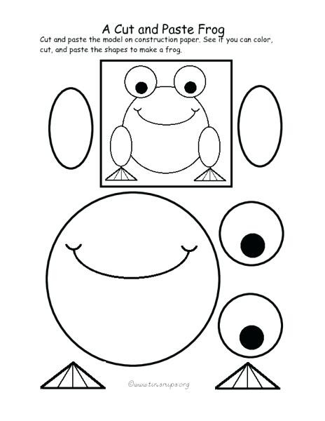 Printable Cut and Paste Worksheets Preschool Cut and Paste Worksheets Cut and Paste Worksheets