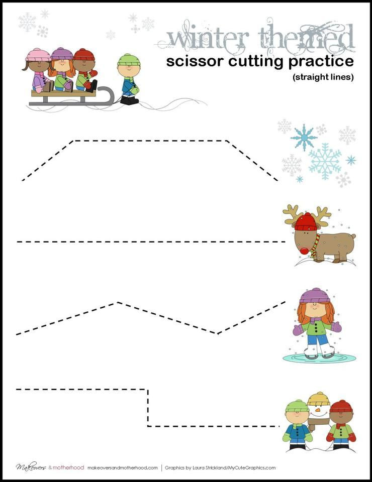 Printable Cutting Worksheets for Preschoolers Pin On Cutting Activities for Children