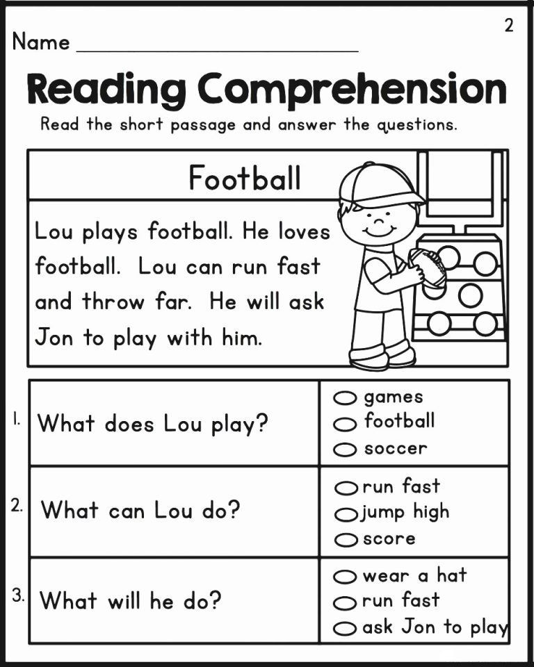 Printable First Grade Reading Worksheets 2nd Grade Reading Worksheets