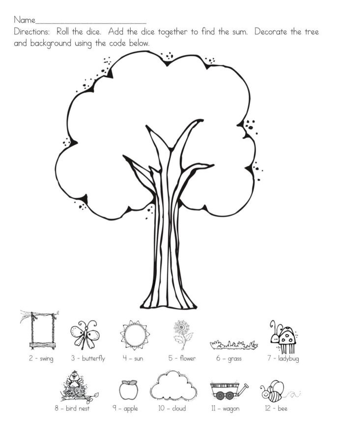Printable Following Directions Worksheets Following Directions Worksheet for Preschoolers Printable
