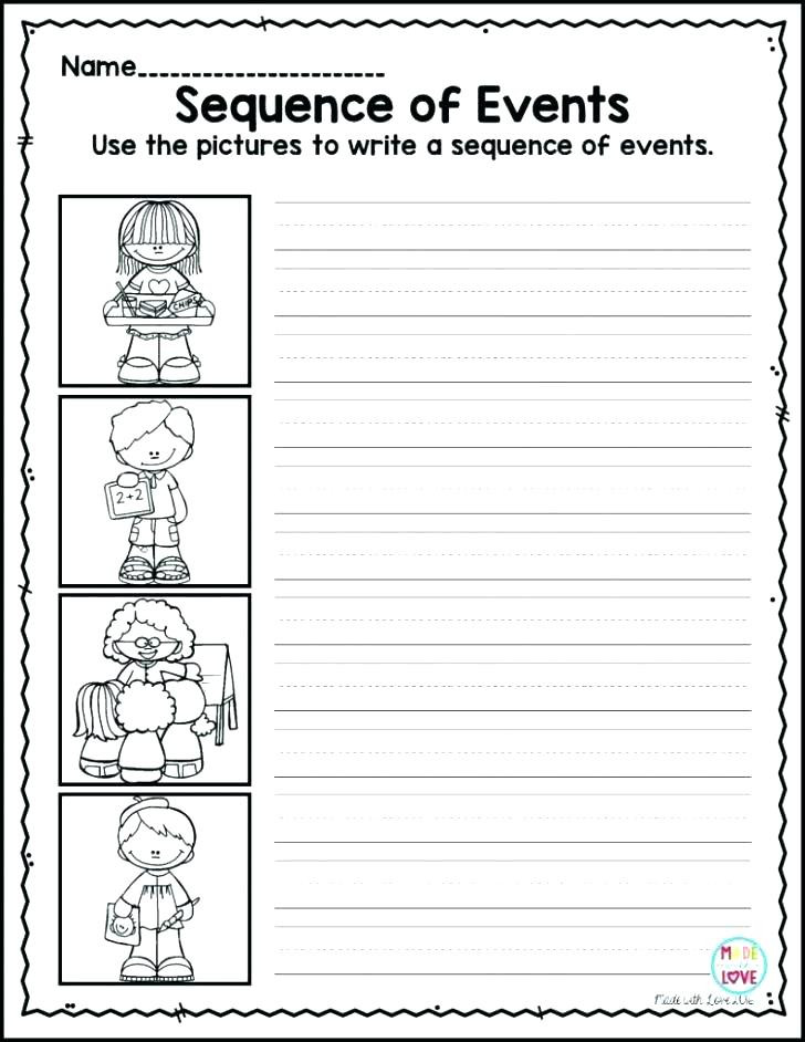 Printable Sequence Worksheets Sequencing Worksheets 2nd Grade Snowman Sequencing Worksheet
