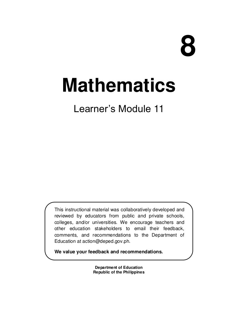 Probability Worksheet 4th Grade Mathematics 8 Basic Concepts Of Probability