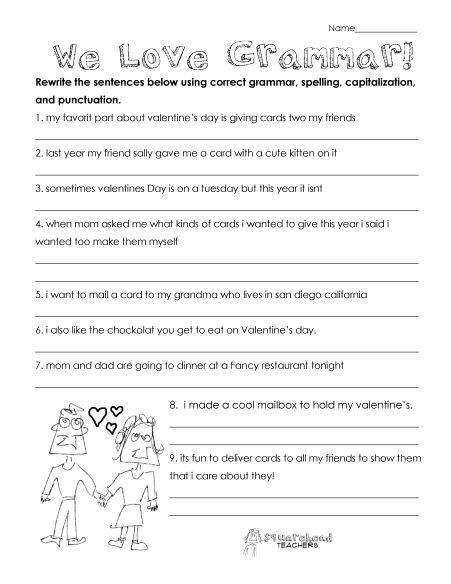 Proofreading Worksheets 3rd Grade Pin On Free Elementary School Resources