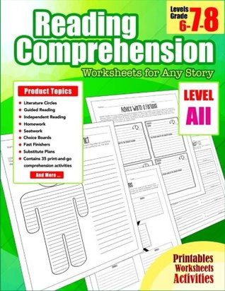 Reading Comprehension 7th Grade Worksheet Reading Prehension 7th Grade Reading Prehension Grade