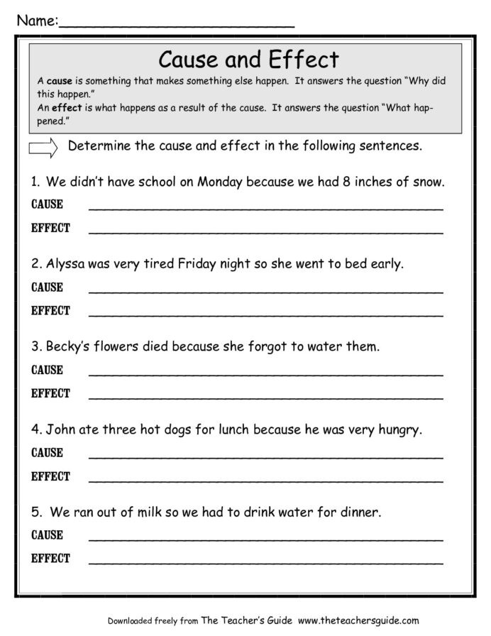 Reading Worksheets 5th Grade Copy Reading Prehension Lessons Tes Teach Cause and