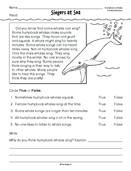 Reading Worksheets Grade 5 Prehension Passages for Grade 5 Pdf Prehension